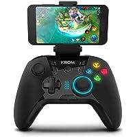 Krom KLOUD - NXKROMKLD - Gamepad alambrico, diseñado para competicion, palancas traseras configurables, D-PAD o entrada…