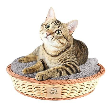 REDAPP Mascota Gatos De Perro Cama De La Casa para Dormir ...