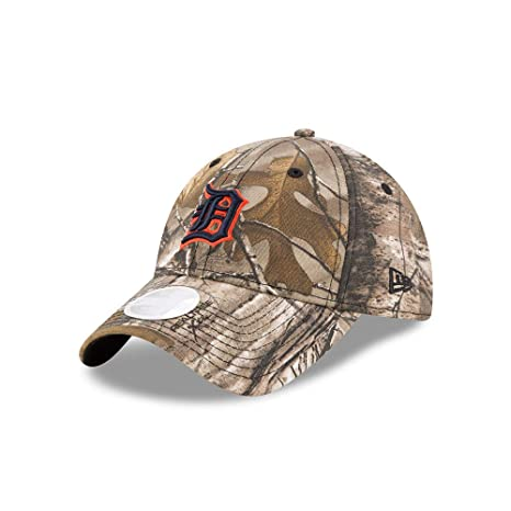 new concept b4351 c26a8 Image Unavailable. Image not available for. Color  New Era Detroit Tigers  Women s Realtree 9TWENTY ...