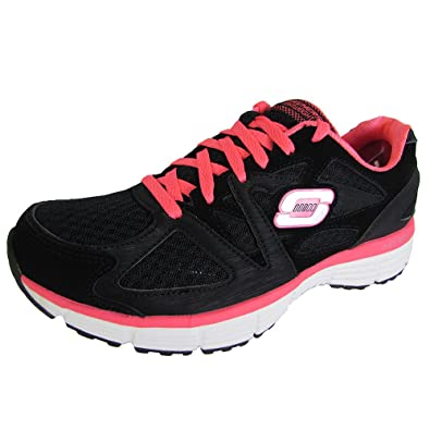 Skechers Agility - Ramp Up Skechers- Charcoal/Purple sneakers