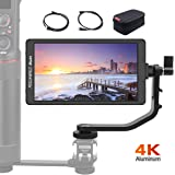 Feelworld Master-6, 5.7 inch on Camera 4k Field Monitor 1920x1080 IPS, Camera Assist Gimbal/Stabilizer Director Monitor…