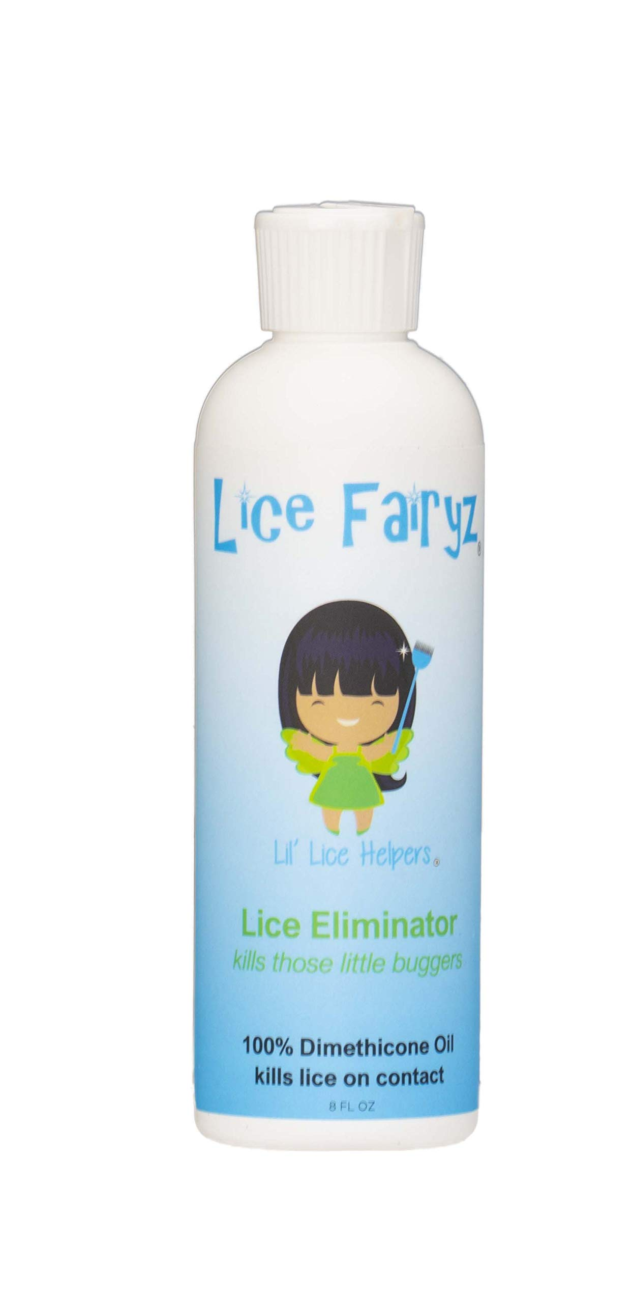 Lice Fairyz Lice Eliminator is 100% Effective & Clinically Proven to Eliminate Live Head Lice, Even Super LICE! Kills Naturally. Pesticide-Free. Chemical-Free. Non-Toxic. Safe for Kids of All Ages.
