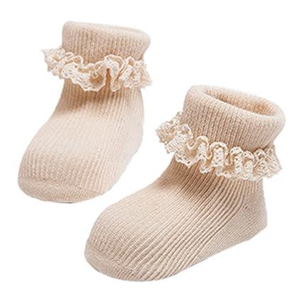 Per Lovely bebé recién nacido calcetines calcetines de algodón ...