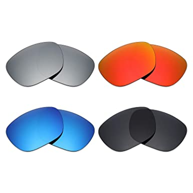 19ecb89cca Image Unavailable. Image not available for. Color  Mryok 4 Pair Polarized  Replacement Lenses for Arnette Fire Drill AN4143 ...