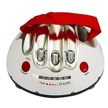 elegantstunning Lie Detector Eléctrica de Embuste Mentira Juguete de Diversión de Entretenimiento de Fiesta: Amazon.es: Juguetes y juegos