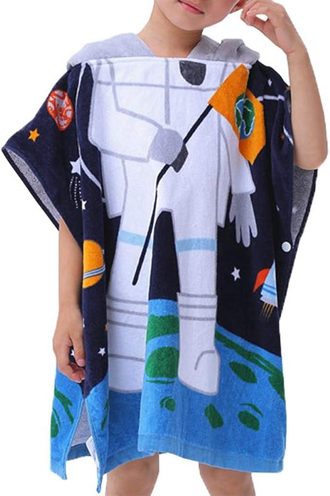 kinder badeponcho robe Bademantel poncho baumwolle