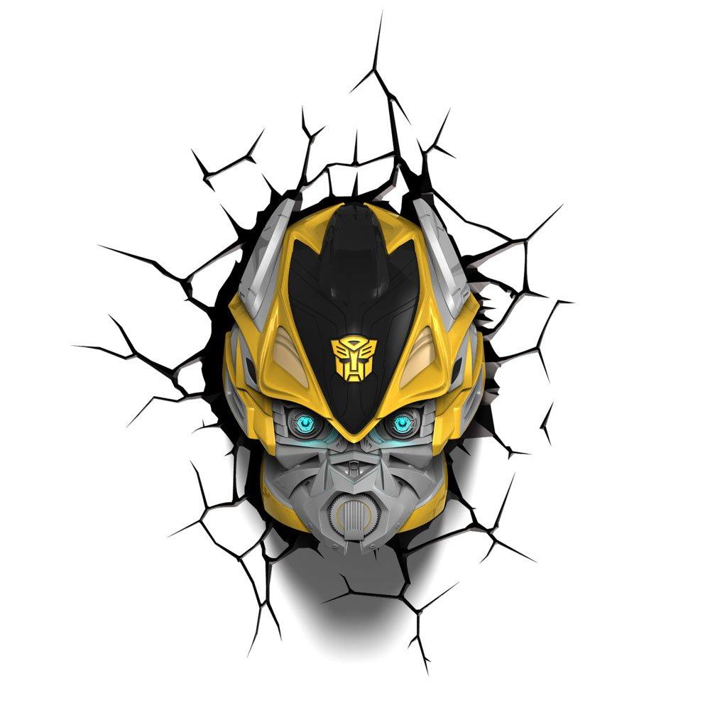 amazon com 3dlightfx transformers bumble bee light toys games