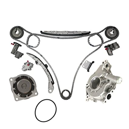 Timing Chain Kit W/ Water Pump U0026 Oil Pump For 2003 2005 Infiniti FX35