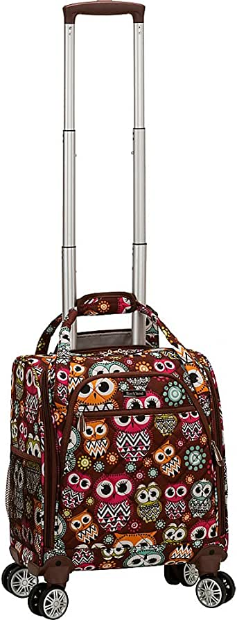 Rockland Melrose Wheeled Underseat Carry On Spinner