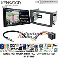 Volunteer Audio Kenwood Excelon DNX994S Double Din Radio Install Kit with GPS Navigation Apple CarPlay Android Auto Fits 2001-2004 Mercedes C Series