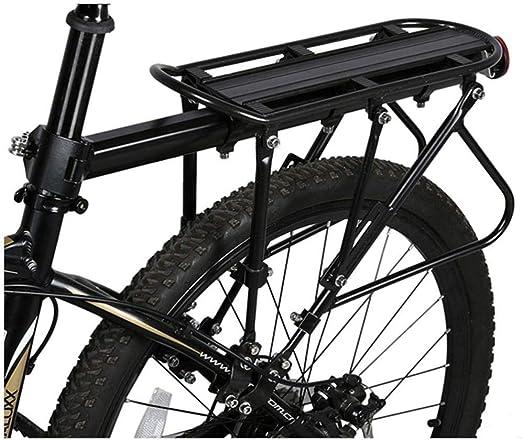 YUQIN Portabicicletas Portacojinetes Sólidos Rodamientos Portaequipajes Ajustable Universal para Bicicleta Portaequipajes Equipo De Ciclismo Portaequipajes del Asiento Trasero Capacidad De 220 LB: Amazon.es: Hogar
