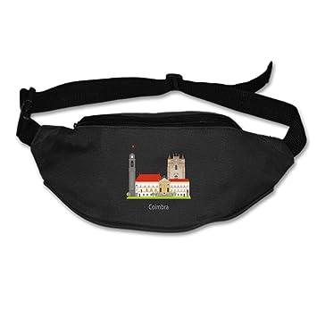 f65a612051c8 Amazon.com : KATONGHUJHJH Lightweight Waist Bag Portugal Fanny Pack ...