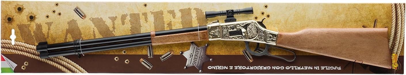 Kansas Black Villa Jouets 3160/ /Fusil Jouet en m/étal /à 12/Coups 125/DB