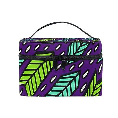 ALIREA Arrows Cosmetic Bag Travel Makeup Train Cases Storage Organizer