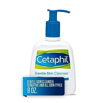 Cetaphil Gentle Skin Cleanser for All Skin Types, Face Wash for Sensitive Skin, 8 oz