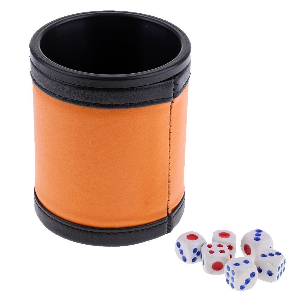 【限定特価】 homyl 6 x x DIY Six Sided Dice Playing DIY d6 Die Dices with Cup Playing D & D TRPGボードアクセサリー B07B9X785G, nanouniverse:b95fe75d --- arianechie.dominiotemporario.com