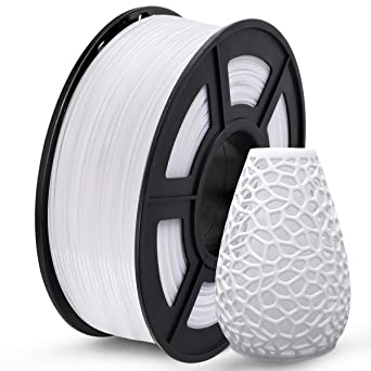 Basics PETG 3D Printer Filament White 1.75mm 1 kg Spool