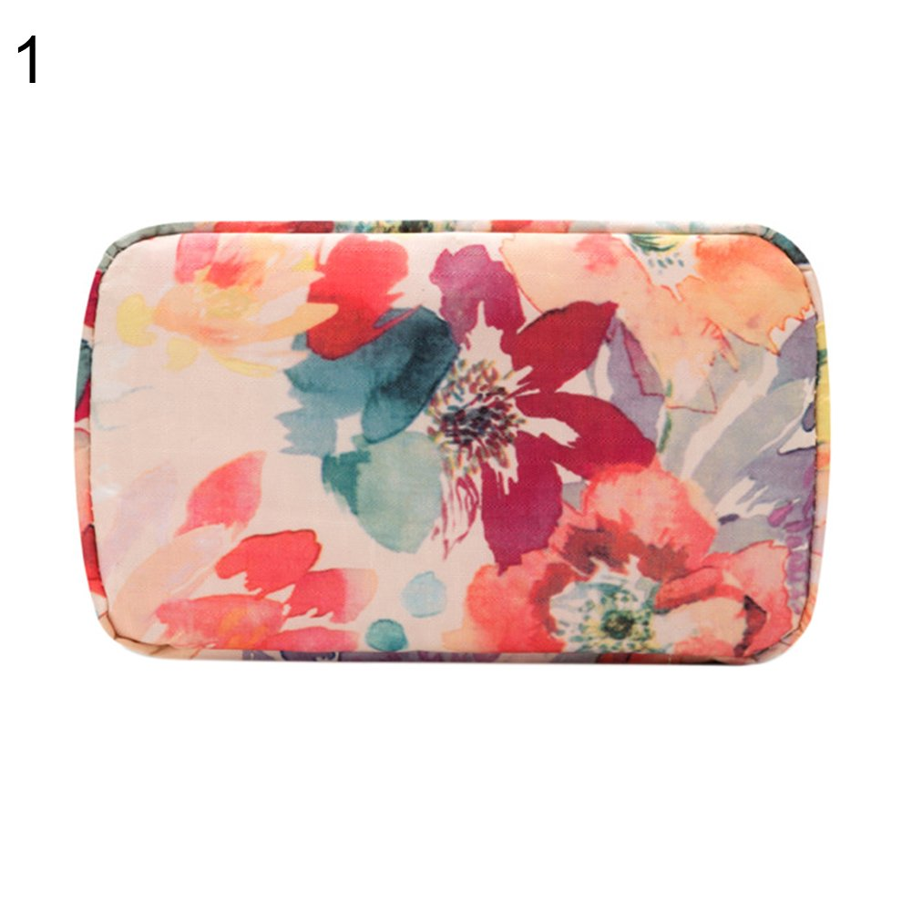 0f2b16c0bba4 Amazon.com : gainvictorlf Makeup Organizer Pouch Large Capacity ...