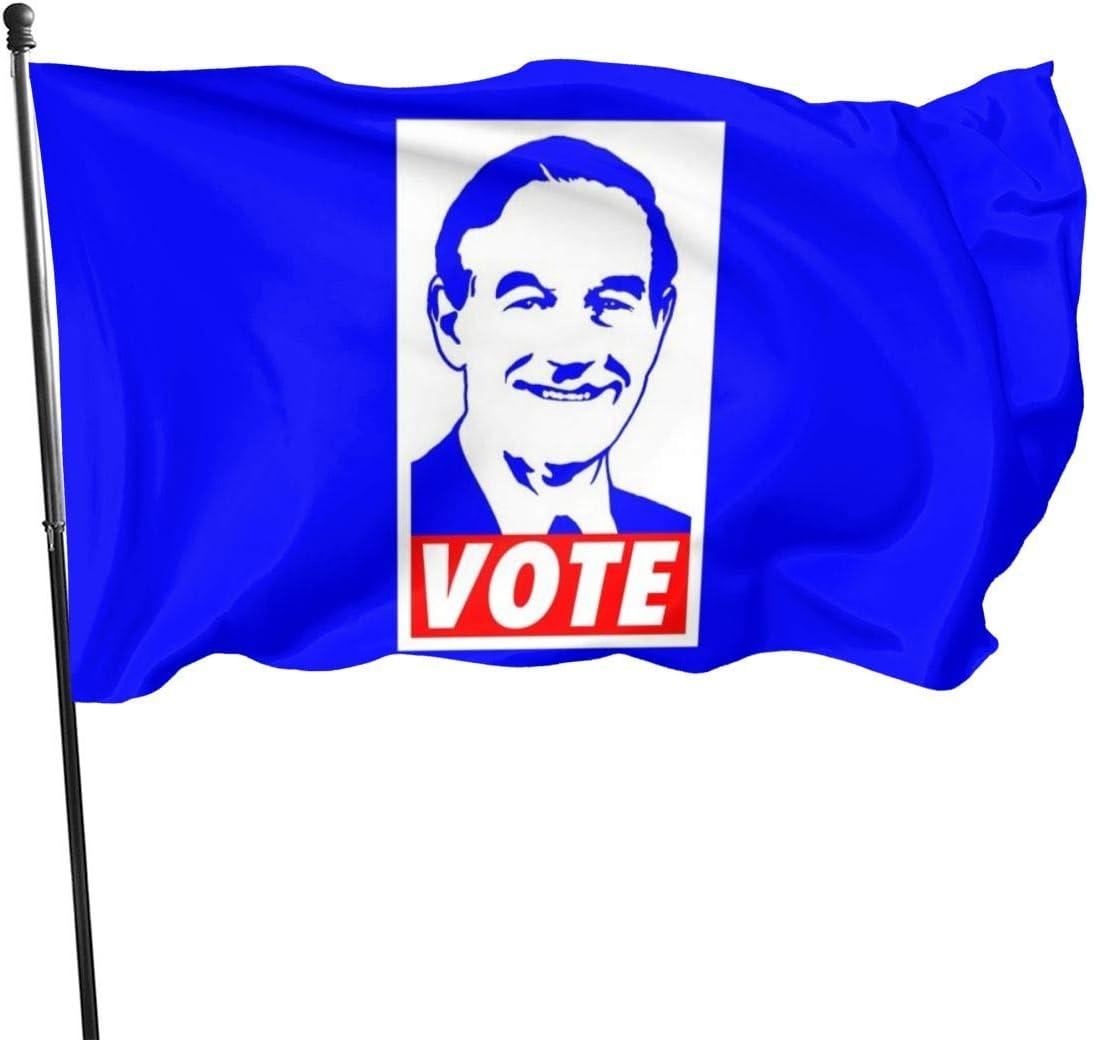 Bandera de Ron Paul Vote 2012 con bandera de Ron Paul Vote de ...