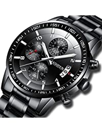 Men's Watches Sports Military Quartz Wristwatches...