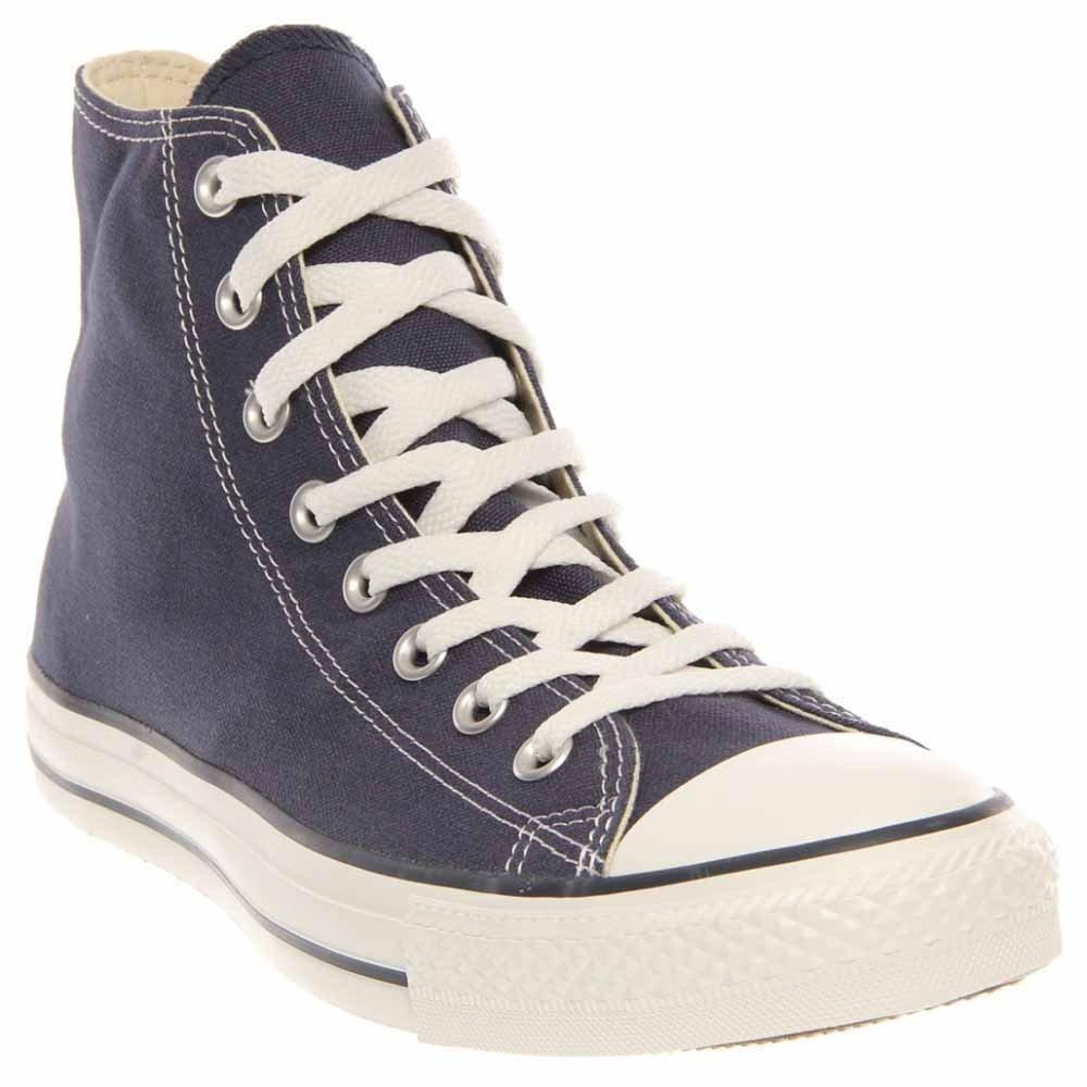 Converse Chuck Taylor All Star Canvas High Top Sneaker, Navy, 8 D(M) US