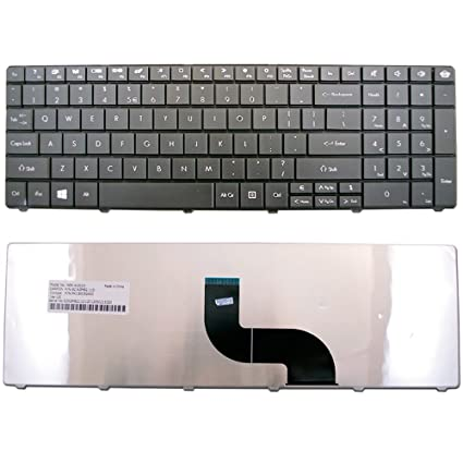 CBK Replacement Keyboard For Gateway NE56 NE56R10u NE56R11u NE56R12u NE56R13u NE56R14u NE56R15u NE56R27U NE56R31U NE56R34U NE56R35U