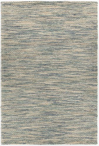 Chandra Rugs Tessa Rectangular Hand-Woven Contemporary Rug - Blue/Natural - 7'9