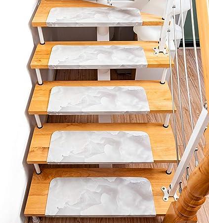 YESMAE Almohadillas para Escaleras De Madera Alfombras Antideslizantes para Alfombra Alfombra Adhesiva Antideslizante para El Hogar,55 * 22 * 4(setfor5)-C: Amazon.es: Hogar