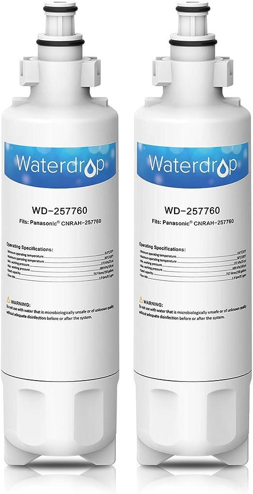Waterdrop 257760 cartucho de filtro de agua para nevera ...
