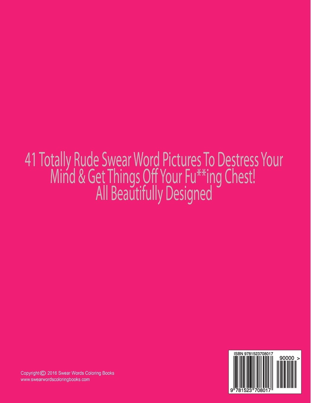 Swear word coloring book volume 1 - Amazon Com Swear Word Coloring Book Adults Coloring Book With Some Very Sweary Words 41 Stress Relieving Curse Word Designs To Calm You The F K Down