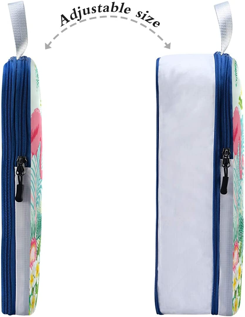 Flowers And Birds 3 Set Packing Cubes,2 Various Sizes Travel Luggage Packing Organizers p