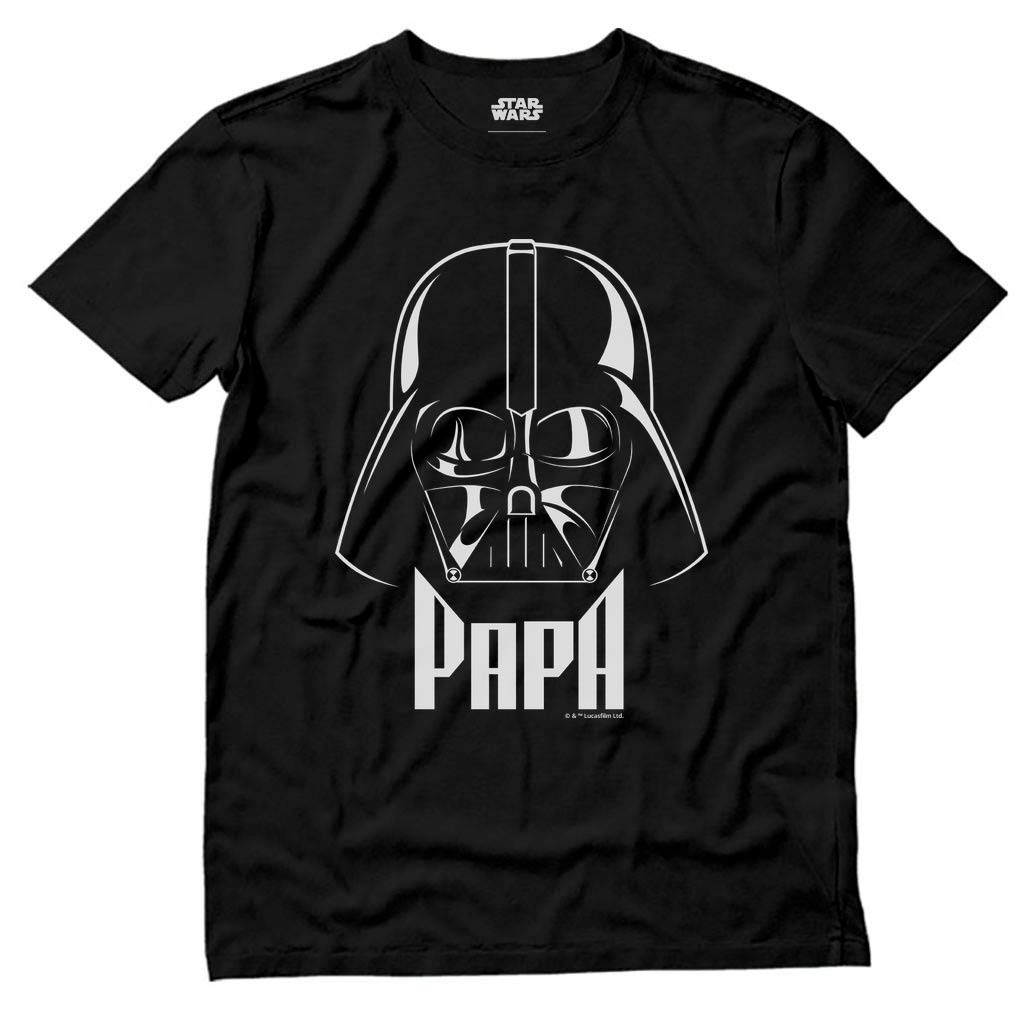 S Darth Vader Papa Vader Dad Grandpa T Shirt