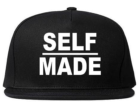 Kings Of NY Self Made Boss Style Fashion Street Mafia Snapback Black ... 8b16a3bf495