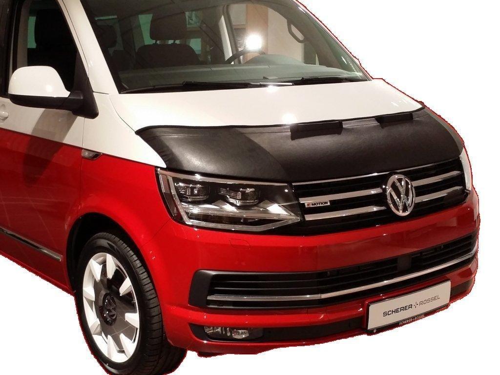 HOOD BRA Front End Nose Mask for VW Volkswagen VW T6 since 2015 Multivan Transporter CARAVELLE Bonnet Bra STONEGUARD PROTECTOR TUNING