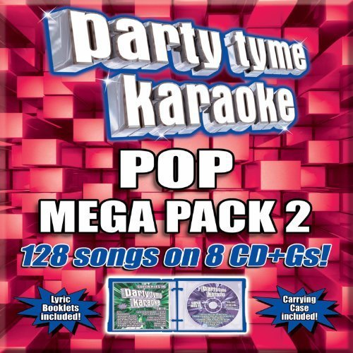 (Party Tyme Karaoke: Pop Mega Pack 2 Box set, Karaoke Edition by Party Tyme Karaoke (2012) Audio CD)