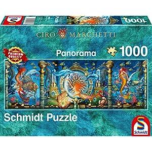 Schmidt Spiele 59613 Ciro Marchetti Puzzle Da 1000 Pezzi Multicolore