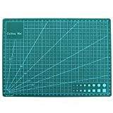 "COMIART A4 Self Healing Cutting Mat PVC Double Sided Engraving Board 3mm Thickness 11.81""x8.66""x0.12"""