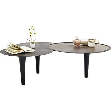 Table Basse Kare Design.Kare Design Table Basse Iris 130x86cm Amazon Fr Cuisine