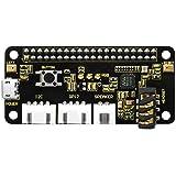 KEYESTUDIO ReSpeaker 2-Mic Pi HAT V1.0 for Raspberry Pi Zero and Zero W, Raspberry Pi B+, Raspberry Pi 2B and 3B