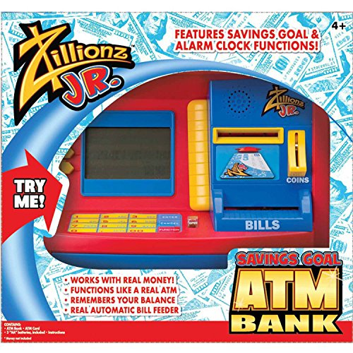 Jr. Deluxe Savings Goal ATM Bank - Deluxe Atm Toy Bank