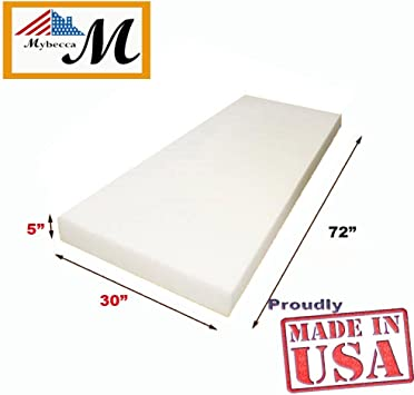 2 L X 30 W X 72 H Mybecca Foam Sheet