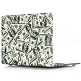 Masino Hard Case for MacBook Air 13'' (A1369 and A1466) (Case for Mac Air 13'', Money-US Dollor)