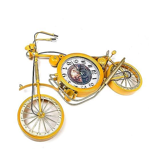 WarmHome Hierro Forjado Adornos De Reloj De Bicicleta Colgante De ...