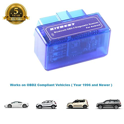 Using an ELM327 adapter like KITBEST Bluetooth OBD2 scanner, you are able to read the codes which causes the light to come on