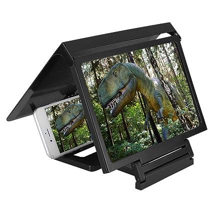 BNMYSY 3d amplificador de video Pantalla del Teléfono Móvil Lupa Portátil hd smartphone película de Alta