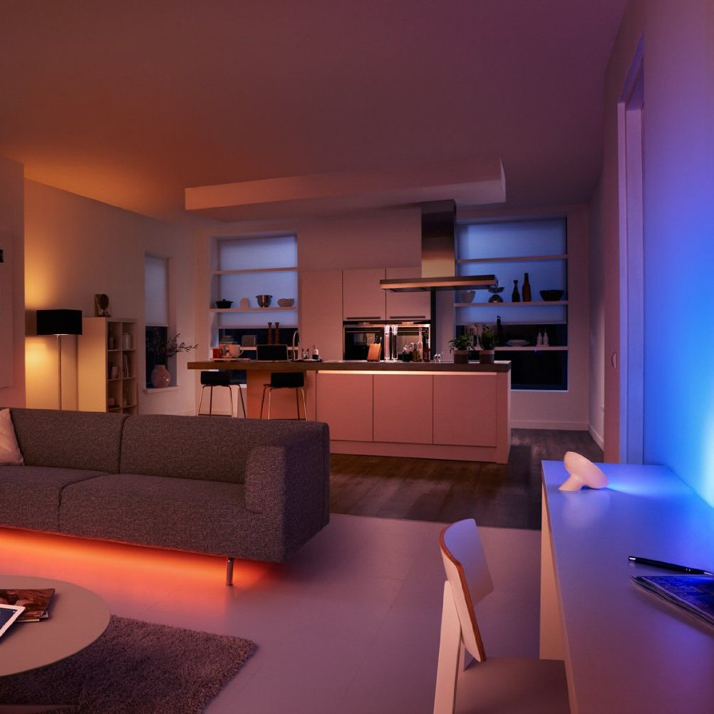Philips Hue Personal Wireless Lighting Starter Kit (3 x A19 E27 ...