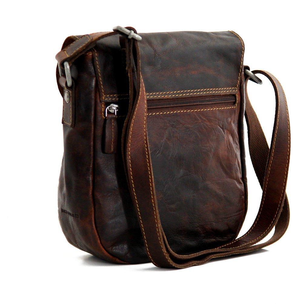 Jack Georges Voyager Horseshoe Crossbody Bag, Leather Shoulder Bag in Brown by Jack Georges (Image #3)