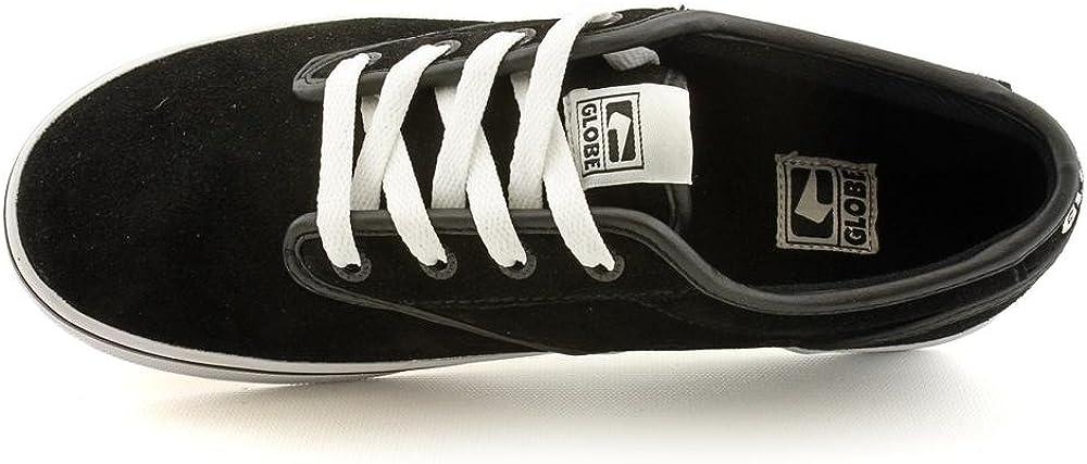 Globe Men's Motley Skate Shoe Black/White Fa12
