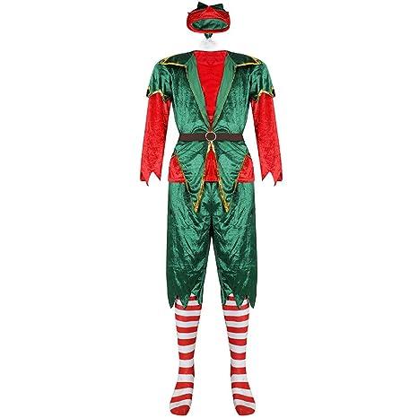 Disfraz de elfo para disfraz de Navidad, suministros de fiesta ...