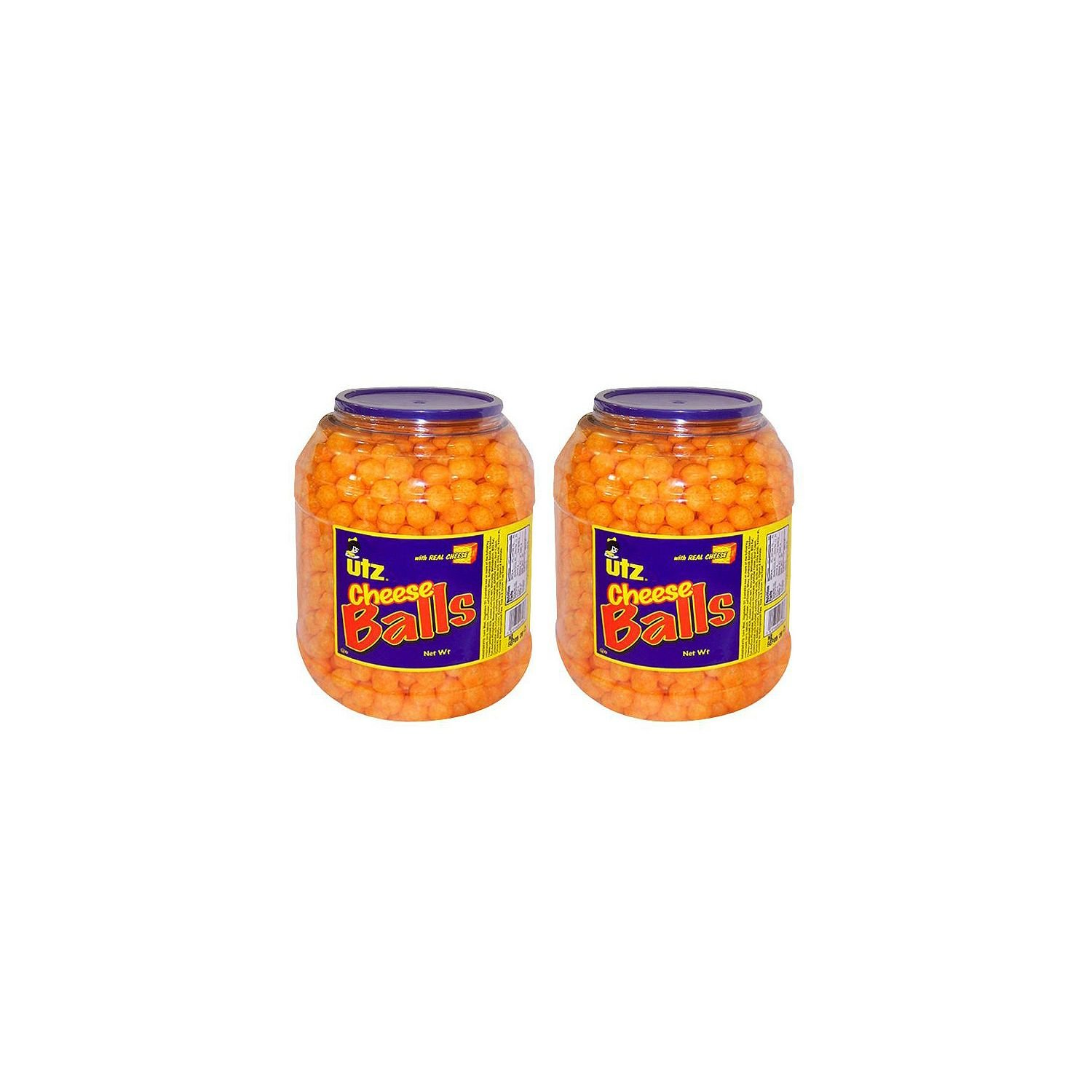 Product of Utz Cheese Ball Barrels 35 oz. (2 pk.) - Chips [Bulk Savings] by UTZ